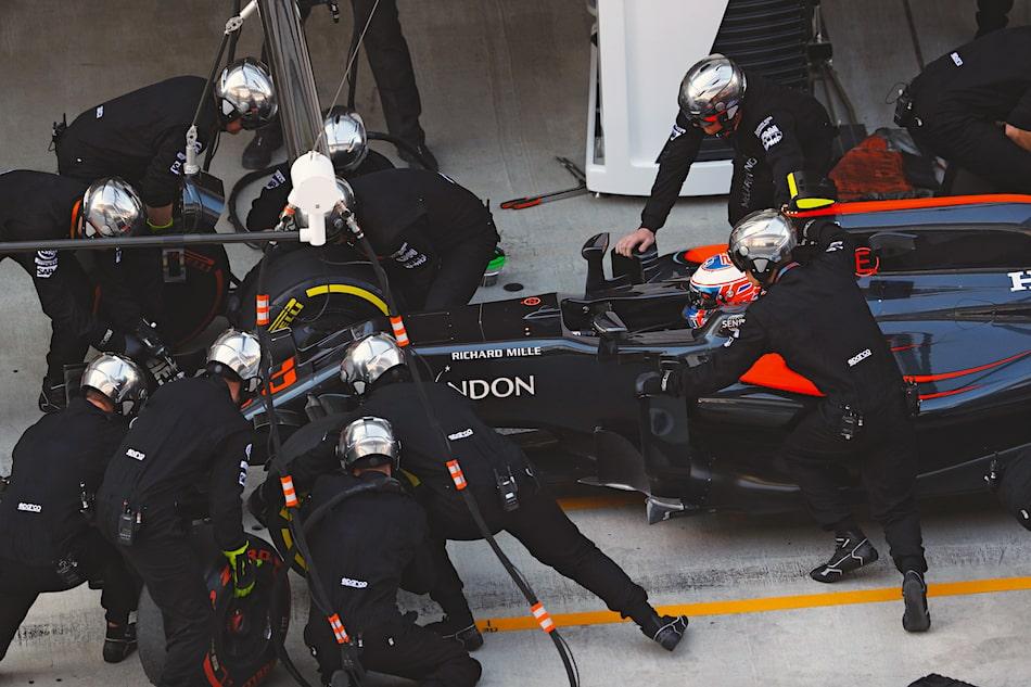 RM 50-03 and McLaren-Honda F1 Racing Team