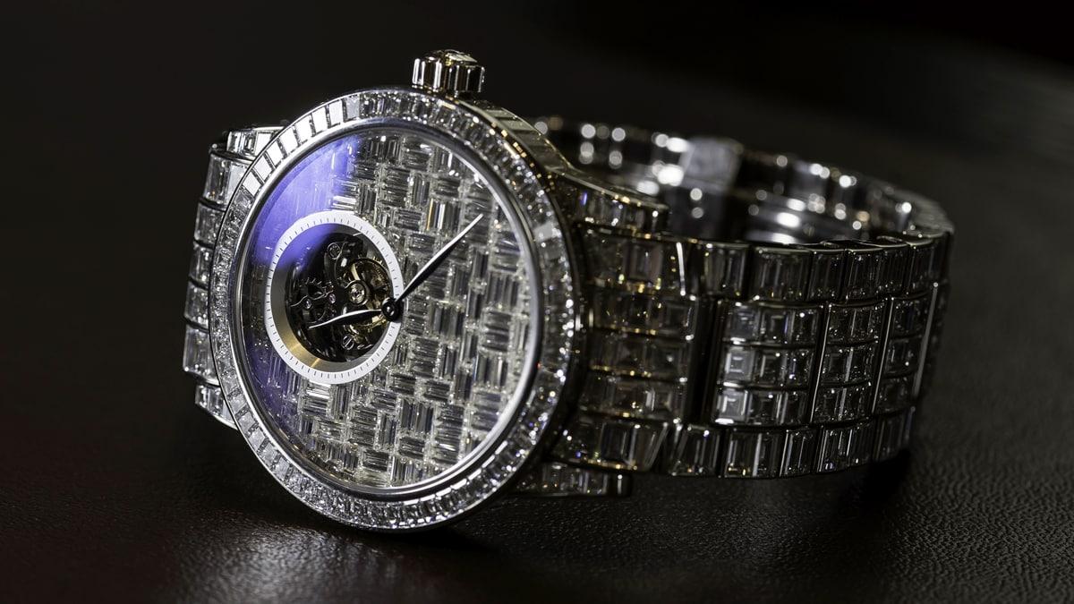 Blancpain Tourbillon Diamonds in White Gold