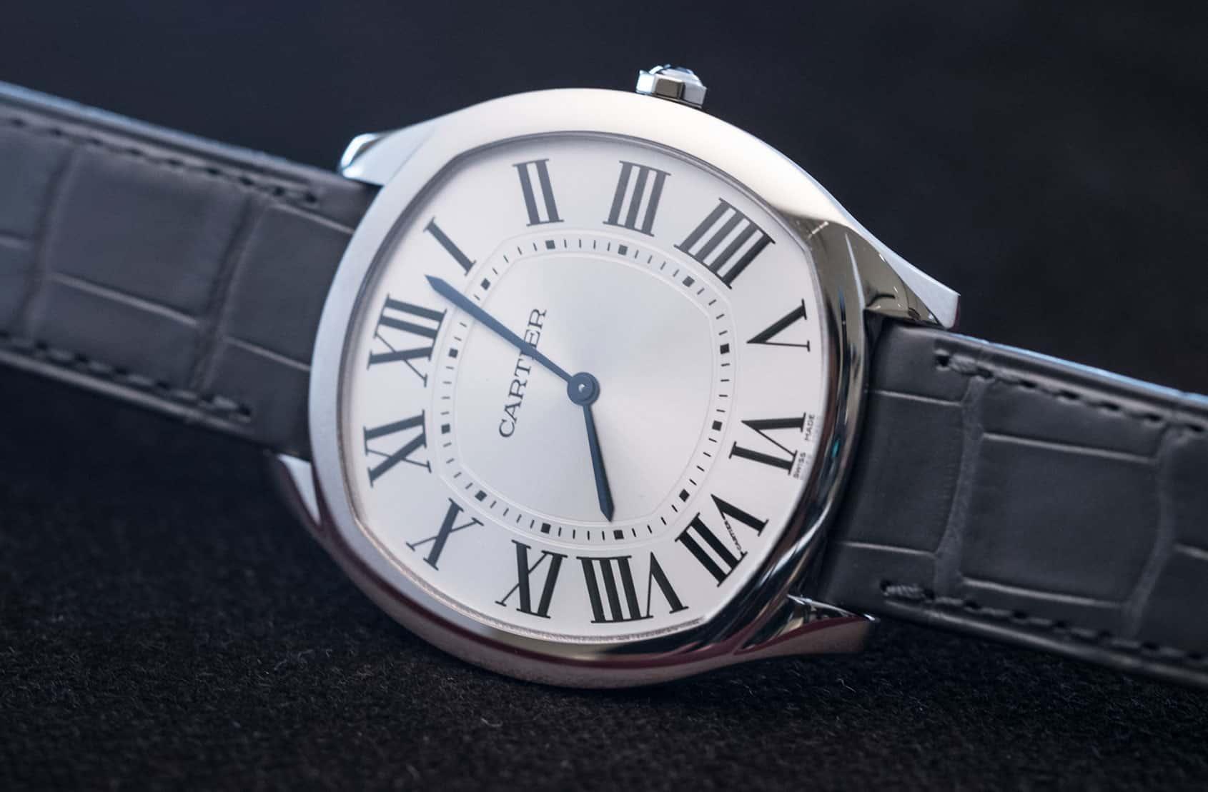 Cartier Drive De Cartier Extra-Flat White Gold