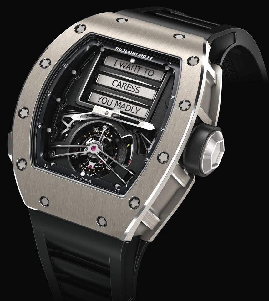 Richard Mille RM 69 Erotic Tourbillon Luxe Watches