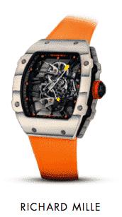 Richard Mille Tourbillon RM 27-02 Rafa Nadal Luxury Watch Limited Edition