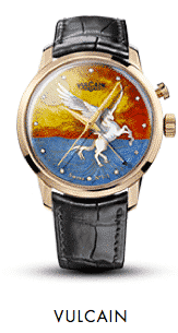 Vulcain 50s Presidents' Cloisonne Grand Feu Only Watch Pegasus
