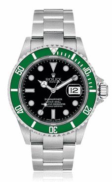 Rolex 50th Anniversary Submariner 'Kermit'