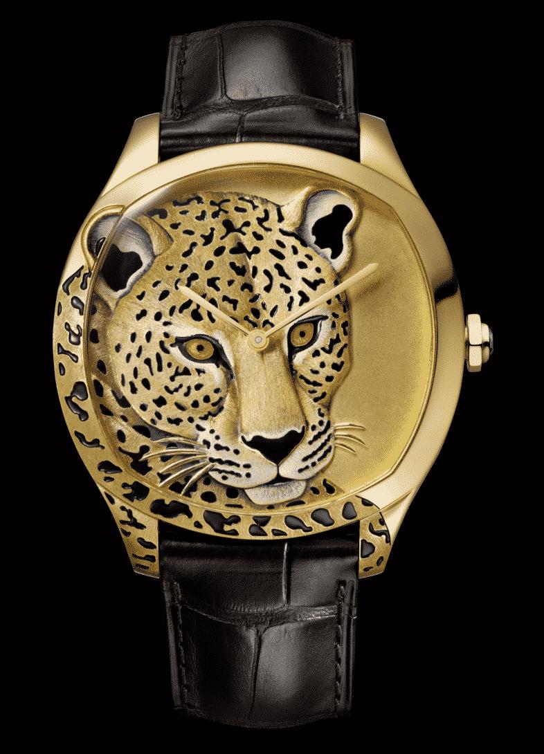 Cartier D'Art Watch Leopard
