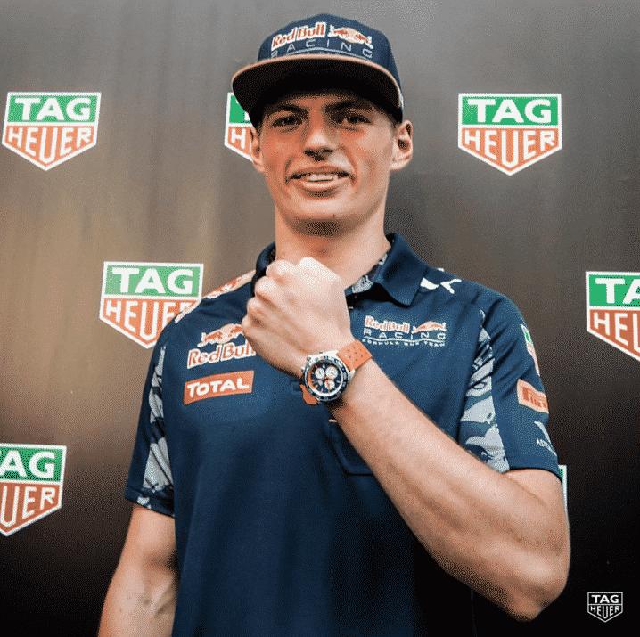 Max Verstappen & TAG Heuer