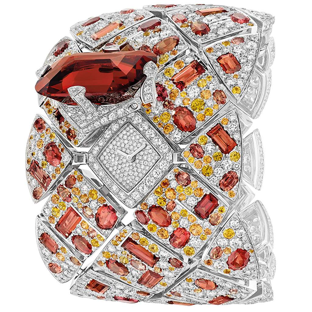 Chanel Secret Watch Signature Grenat